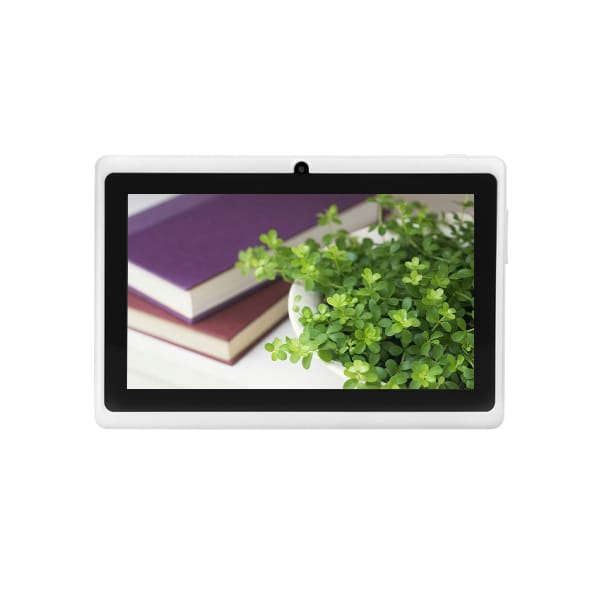 7 Inch Tablet Android 6.0 Wifi Q8 OEM Wholesale White