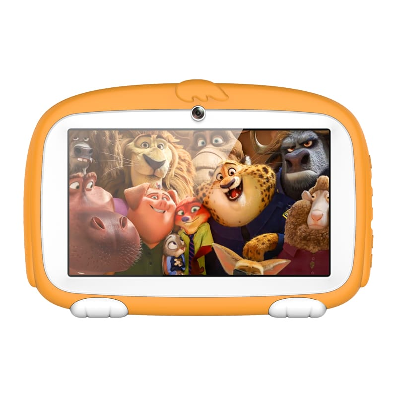 Tablet Kids 7 Inch Educational Android 6.0 Quad Core 8GB Yellow - Shenzhen Byelecs Technology Co., Ltd