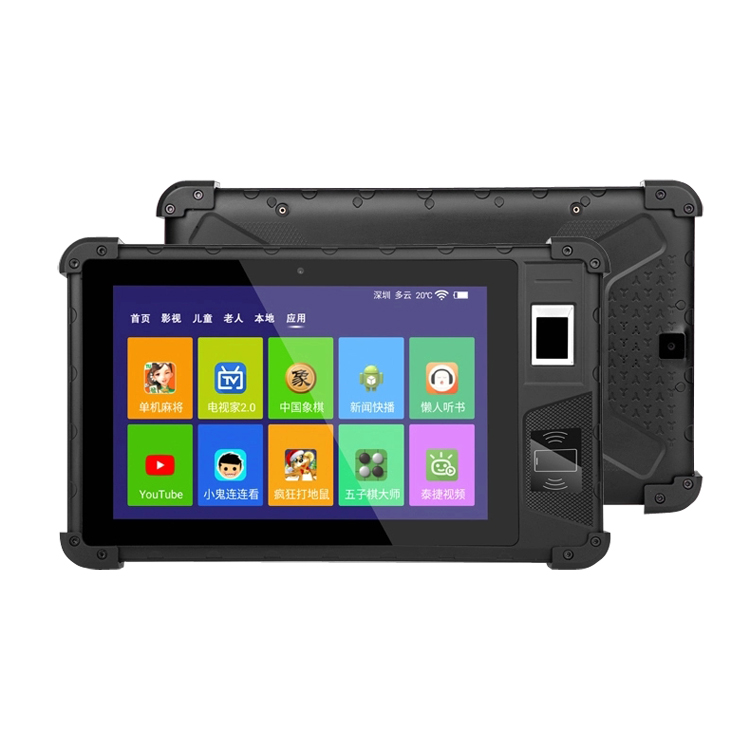 Tablet Android Biometrics NFC IP67 Waterproof High performance