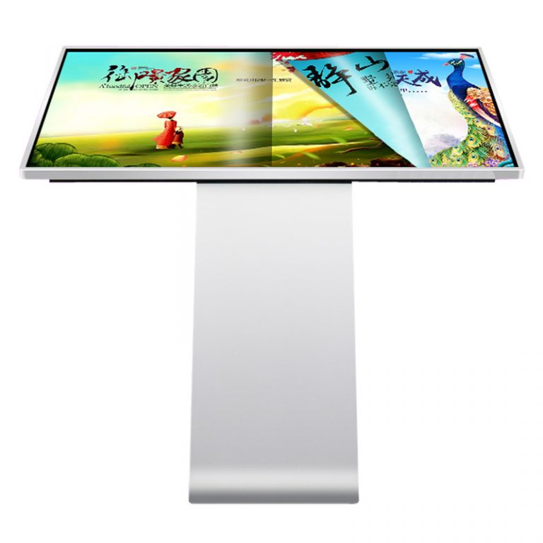 Horizontal advertising machine shopping mall 32 inch lcd commercial display new